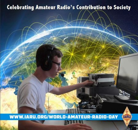 World Amateur Radio Day 2016 logo